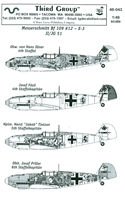 Third Group 48-043 - Messerschmitt Bf 109 #12 E-3