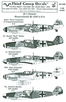 Third Group 48-048 - Messerschmitt Bf 109F-4/G-6