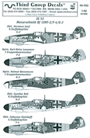 Third Group 48-052 - JG 52 Messerschmitt Bf 109F-2/F-4/G-2