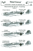 Third Group 48-059 - Messerschmitt Bf 109 #16 - F-4/Z/Trop - I/JG 27