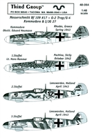 Third Group 48-064 - Messerschmitt Bf 109 #17