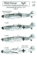 Third Group 48-065 - Messerschmitt Bf 109 #18 - G-6 - I/JG 27