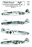 Third Group 48-066 - Messerschmitt Bf 109 #19 - K-4 III/JG27