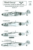 Third Group 48-067 - Messerschmitt Bf 109 #20 - E-3/4/7