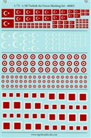 TigerHead Decals 48003 - Turkish Air Forces Marking Set (1/48 & 1/72)