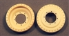 Ultracast 135011 - Centaur Road Wheels, Unmounted for Spare Stowage (for Tamiya Centaur kits)