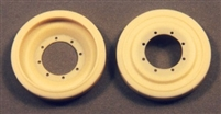 Ultracast 135012 - Cromwell Road Wheels, Unmounted for Spare Stowage (for Tamiya Cromwell kits)