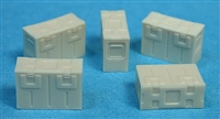 Ultracast 135017 - WWII British Empire Steel Munition Boxes, B166 Mk II