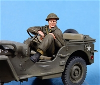 Ultracast 35031 - Canadian / British Jeep Driver (Europe - 1943-45)