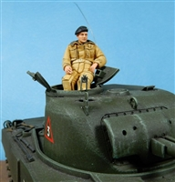 Ultracast 35037 - Canadian/British Tank Commander, Europe Late 1944-45