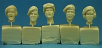 Ultracast 35044 British Heads WWII (Tank Crew #4)