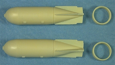 Ultracast 48001 500 lb. MC Mk III, WWII British General Purpose Bombs