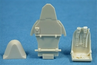 Ultracast 48019 Hawker Hurricane Seat (with armor plate for Hasegawa kits)