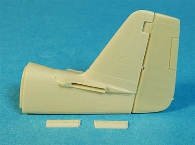 Ultracast 48024 - P-51D Mustang - Early Tail Conversion (Filletless) (fits Tamiya Kit #61040)