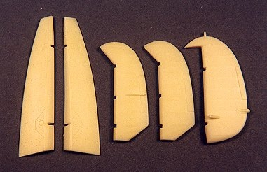 Ultracast 48039 - Supermarine Spitfire Mk VB Control Surfaces  (fits Tamiya Kit #61033 & #61035)
