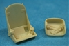 Ultracast 48053 Dauntless Seats (Pilot & Gunner's seat with early war harness)