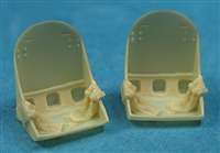 Ultracast 48055 F4F Wildcat Seats (with early war harness)