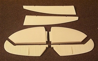 Ultracast 48085 - Supermarine Spitfire Mk IX Early Style Control Surfaces (fits Hasegawa kits)