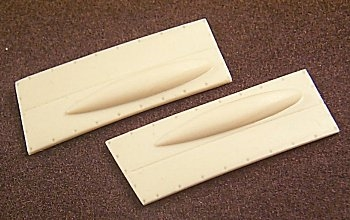 Ultracast 48091 - Supermarine Spitfire Mk IX C Wing Cannon Bay Covers (fits Hasegawa kits)