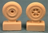 Ultracast 48121 - P-47 Thunderbolt Wheels, Diamond Tread
