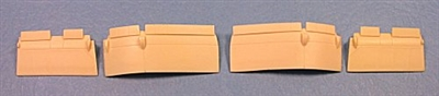 Ultracast 48203 F4U-1 Corsair Flaps (fits Tamiya kits)