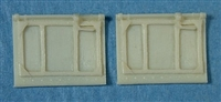 Ultracast 48214 Spitfire Mk I/Mk II Cockpit Doors, without crowbar & fittings, for aircraft built prior to February 1941 (fits Tamiya Spitfire Mk I kits)