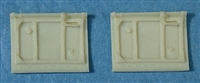 Ultracast 48215 Spitfire Cockpit Doors, without crowbar (fits Tamiya Spitfire Mk I & Mk V kits)