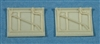 Ultracast 48216 Spitfire Cockpit Doors, with crowbar (fits Tamiya Spitfire Mk I & Mk V kits)