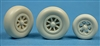 Ultracast 48217 - P-38 Lightning Wheels (smooth tires)