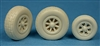 Ultracast 48219 - P-38 Lightning Wheels (block tread tires)