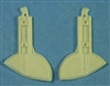 Ultracast 48245 - Spitfire Wheel Well Doors (for Hasegawa Spitfire Mk VII, VIII, IX, XVI)
