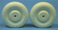 Ultracast 48247 - De Havilland Mosquito Standard Wheels (block tread)