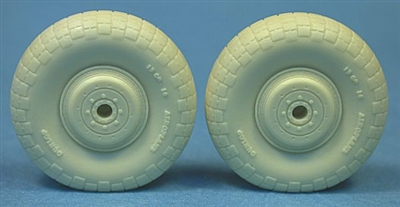 48247 De Havilland Mosquito Standard Wheels (block tread)