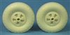 Ultracast 48248 - De Havilland Mosquito Spoked Wheels (diamond tread)