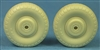 48250 De Havilland Mosquito Standard Wheels (Australian Z Block tread)