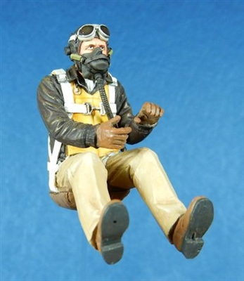 54017 USAAF P-51D Seated Fighter Pilot (Mid-Late War 1943-45)