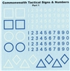 Ultracast D35010 - Commonwealth Tactical Signs & Numbers, Part 1