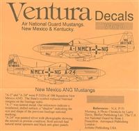 Ventura V4870 - Air National Guard Mustangs (New Mexico & Kentucky)
