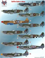 Victory Productions VPD32004 - Spitfires - Eights & Nines