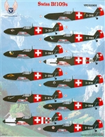 Victory Productions VPD32005 - Swiss Bf-109s