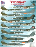 Victory Productions VPD48003 - F-104 Starfighters (West German Luftwaffe & Marine)