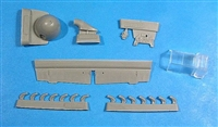 Vector VDS48-039 - Bf 109 F-2 Correction Set (for 1/48 Zvezda kits)