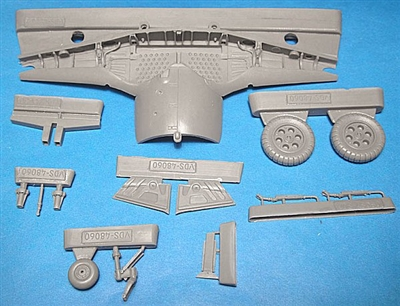 Vector VDS48-060 - Fw 190A-3 Wheel Wells and Wheels (fits Tamiya kits)