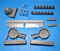Vector VDS48-061 - Bf 109G-2 Conversion Set (fits Zvezda Bf109F kit)