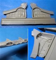 1:48 Vector #VDS48-113  Yak-1//Yak-7 exhaust pipes