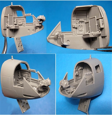 Vector VDS48-093 - A-20J Boston/Havoc Navigator's Cockpit (fits AMT / Revell / Italeri kits)
