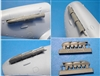 Vector VDS48-094 - Spitfire Mk V Fishtail Exhaust Pipes (fits Airfix kit)