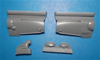 Vector VDS48-110 - Bf 109 G-6 Erla Cowlings (for Zvezda kit)