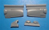 Vector VDS48-111 - Bf 109 G-6 MTT / WNF Cowlings (for Zvezda kit)