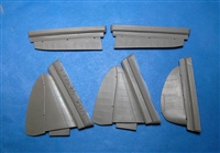 Vector VDS48-122 - MiG-3 Control Surfaces (for Trumpeter kit)